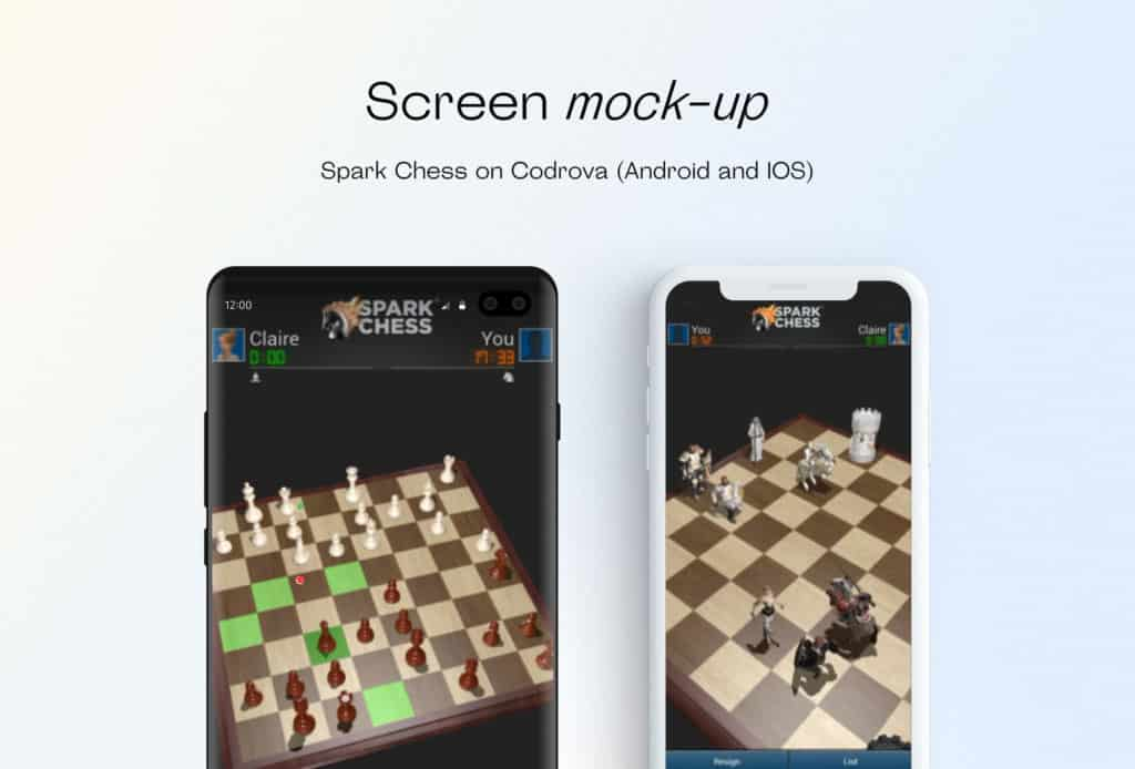 Spark Chess on Cordova (Android and iOS)