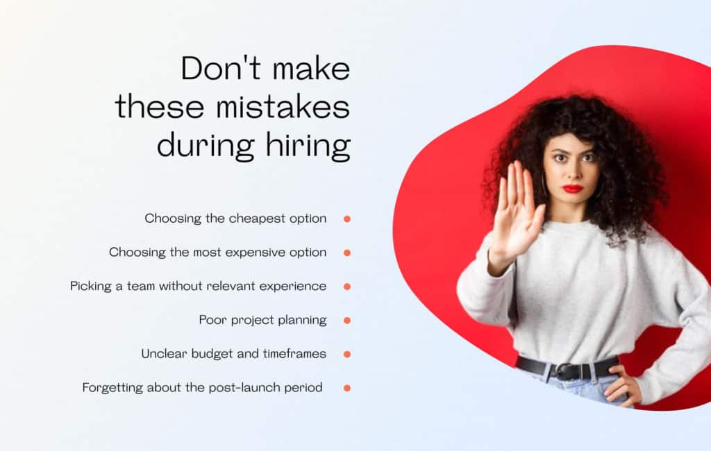 Don't make these mistakes during hiring