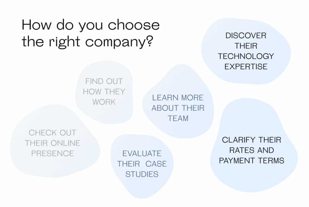 How do you choose the right company?