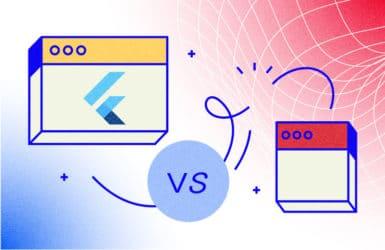 Flutter vs. React Native Comparison: What toChoose toBuild aMobile App in2021