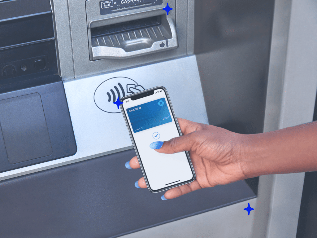 ATM withdrawal using a smartphone