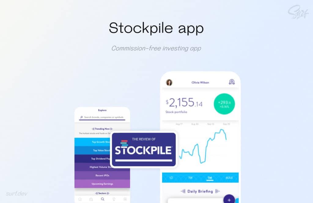 Investing Stockpile app