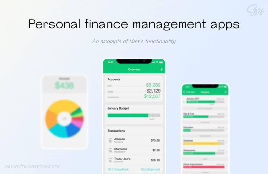 Personal finance management app
